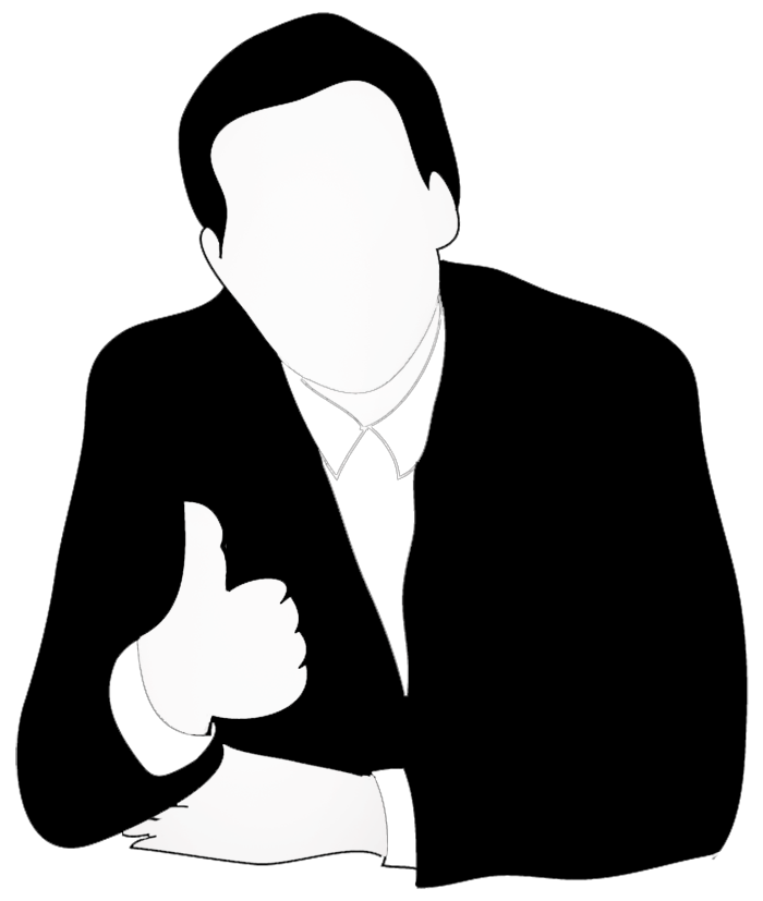 Clipart thumbs up png clip free download Clipart thumbs up silhouette - ClipartFest clip free download