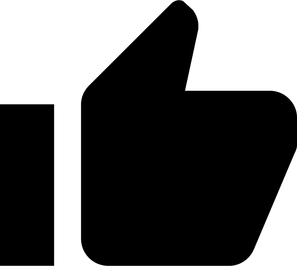 Clipart thumbs up with money clipart black and white library Thumbs Up Svg Png Icon Free Download (#325363) - OnlineWebFonts.COM clipart black and white library