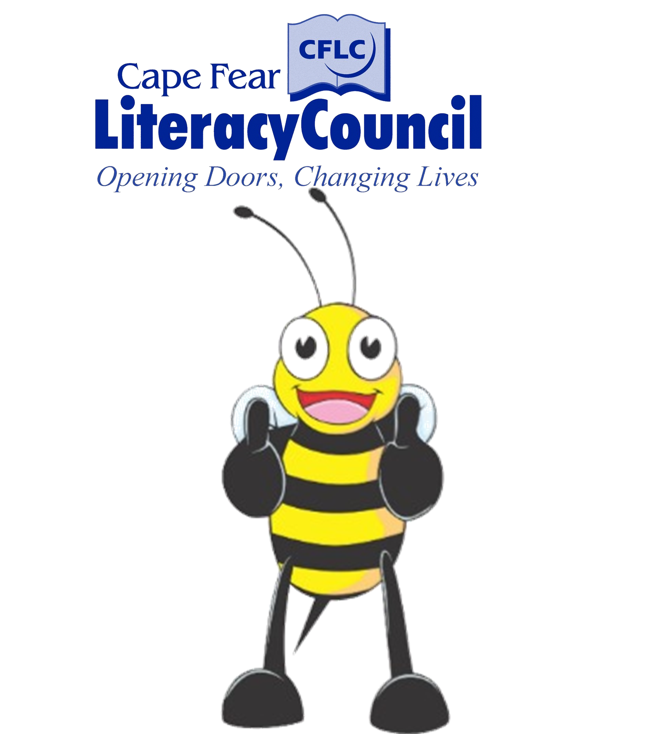 Clipart thumbs up with money graphic black and white download thumbs up bee | Cape Fear Literacy Council graphic black and white download