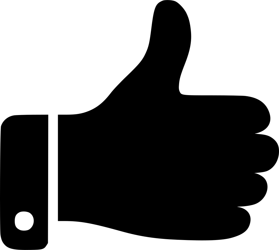 Clipart thumbs up with money clipart free stock Thumb Up Svg Png Icon Free Download (#451631) - OnlineWebFonts.COM clipart free stock