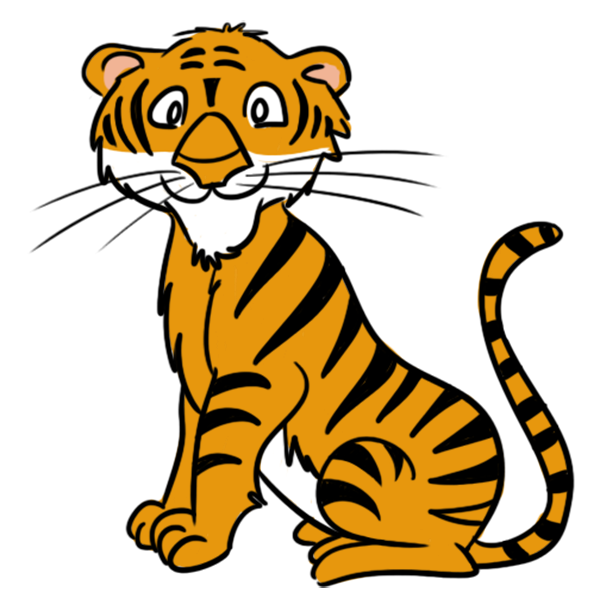 Tiger in clipart graphic freeuse download Tigers Clipart Group with 55+ items graphic freeuse download