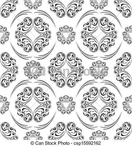 Clipartninja seamless ornament pattern. Clipart tile patterns