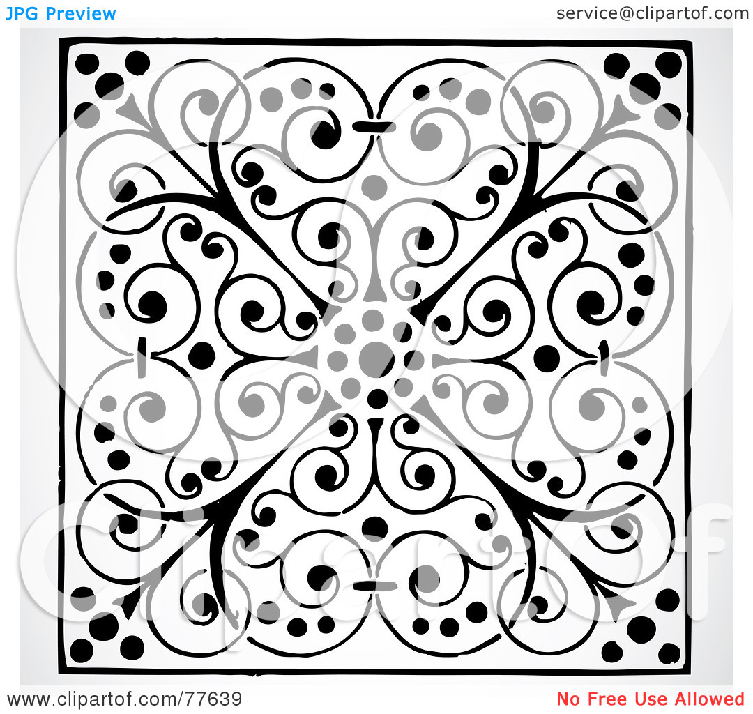 Clipart tile patterns svg transparent stock Clipart tile patterns - ClipartFest svg transparent stock