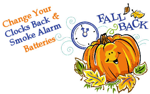 Clipart time change fall back vector free stock Fall Back Time Change! Turn Clock Back 1 Hour Nov 5th at 2am:Modern ... vector free stock