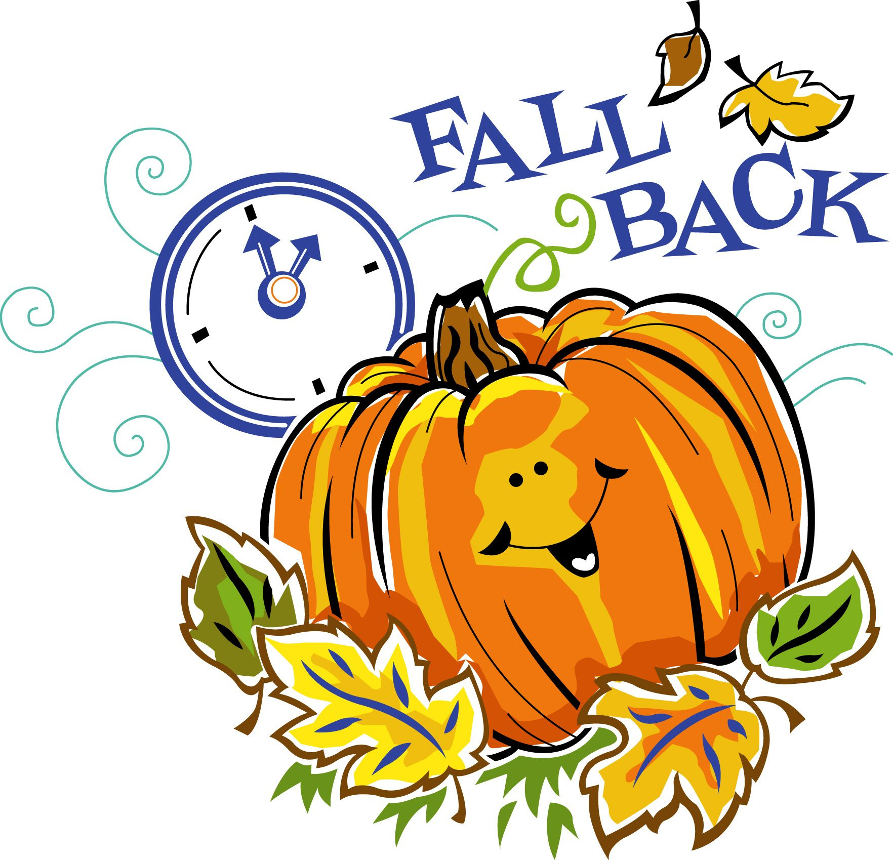 Daylight savings clipart fall back library It\'s Time to \
