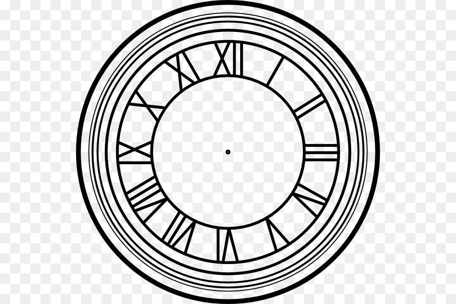Clipart time machine black and white free jpg freeuse library Circle Time png download - 600*600 - Free Transparent Back To The ... jpg freeuse library