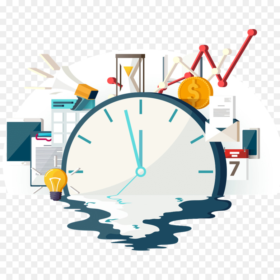 Clipart time management png transparent stock Circle Time clipart - Sales, Text, Technology, transparent clip art png transparent stock
