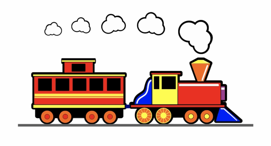 Train image clipart vector black and white library Toy Train Clipart , Png Download - Toy Train Clip Art Free PNG ... vector black and white library