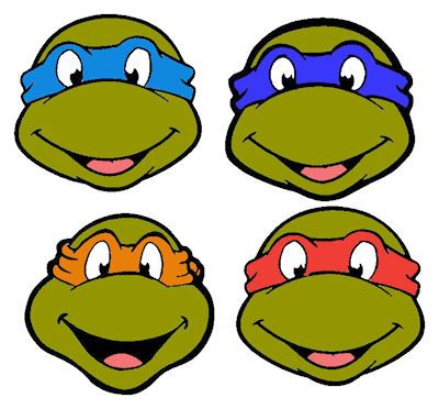 Teenage mutant ninja turtles clipart free graphic freeuse Free download Tmnt Outline Clipart for your creation. | TMNT ... graphic freeuse