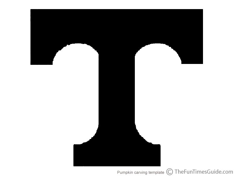 Clipart tn vols logo black and white. Clipartfest tennessee pumpkin carving