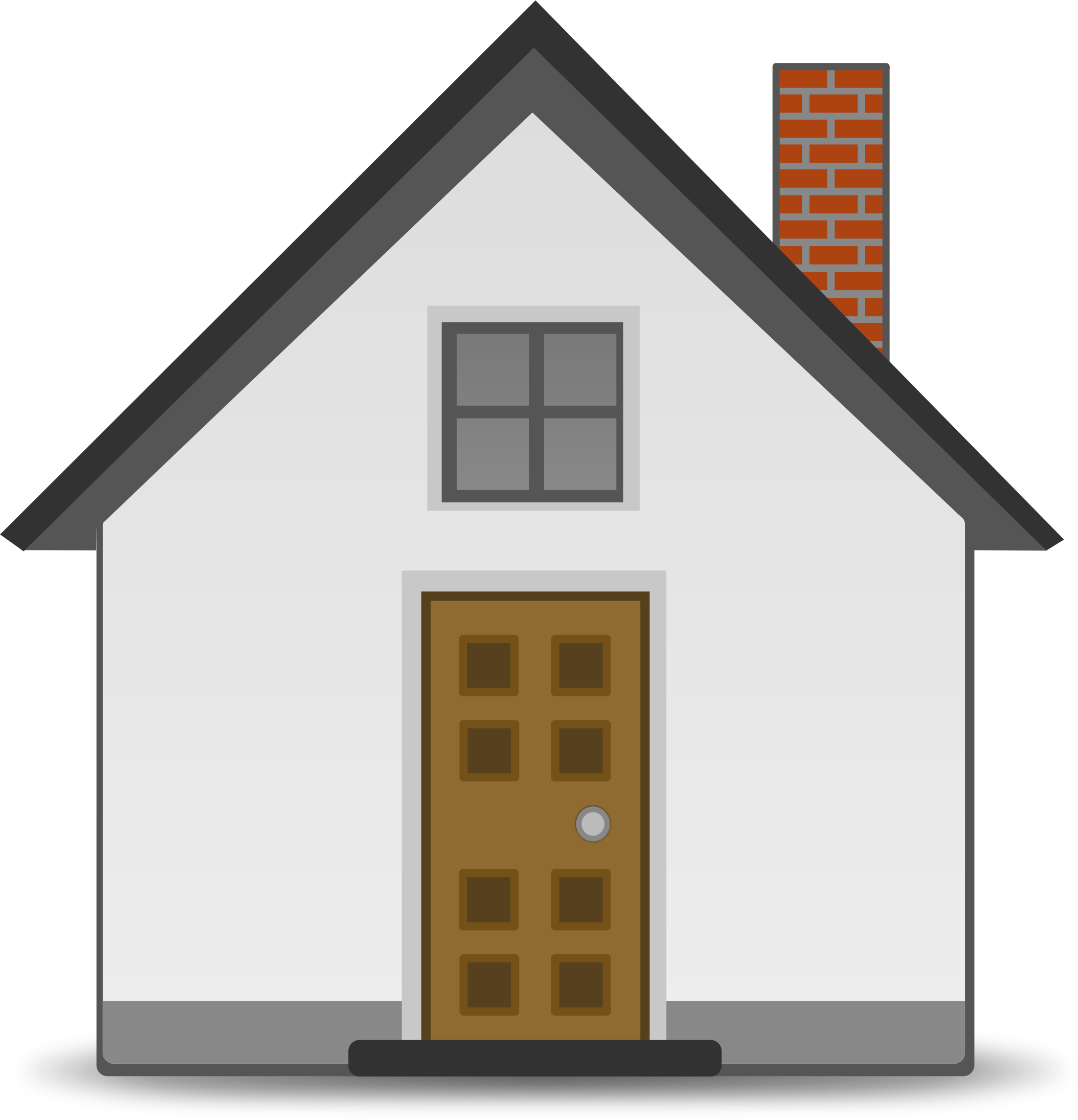 House at night clipart graphic black and white download House clipart png clipart download #45374 - Free Icons and PNG ... graphic black and white download