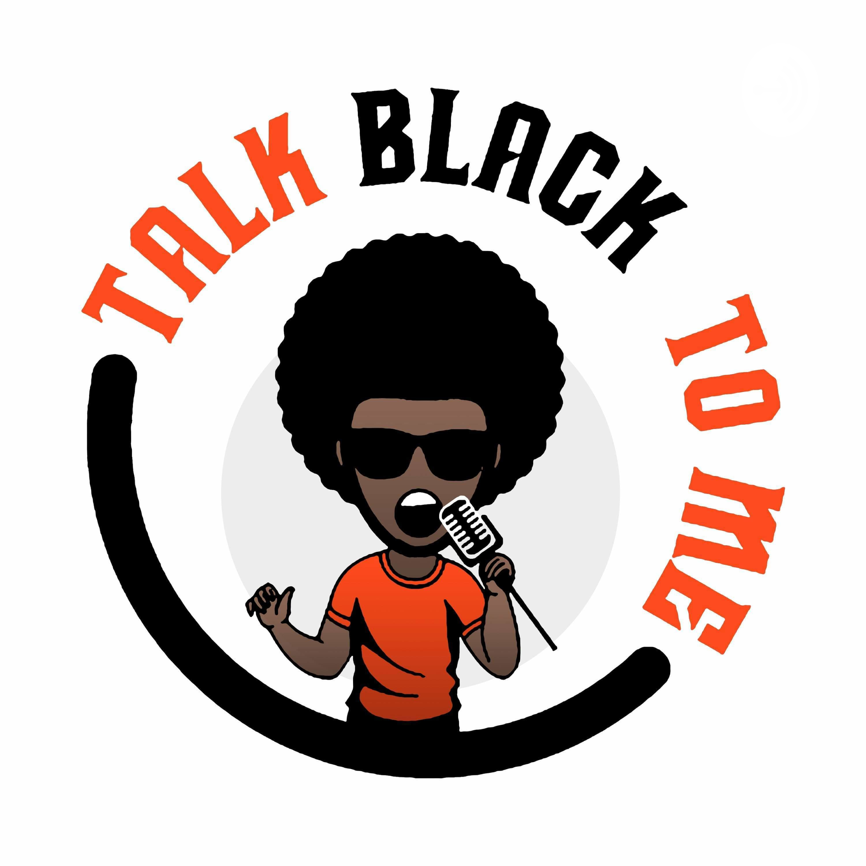 Clipart to listen to talk on the phone graphic black and white Talk Black to Me | Listen via Stitcher for Podcasts graphic black and white