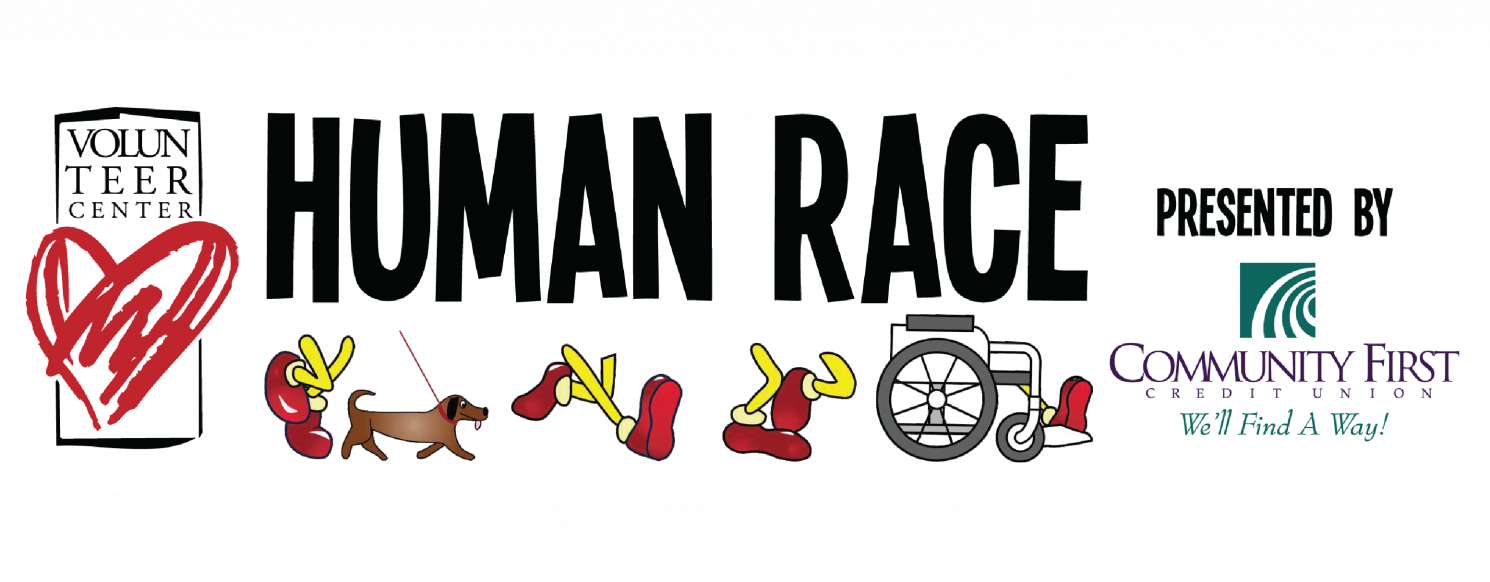 Clipart to show money raised image free download Volunteer Center Human Race | Human-Race image free download