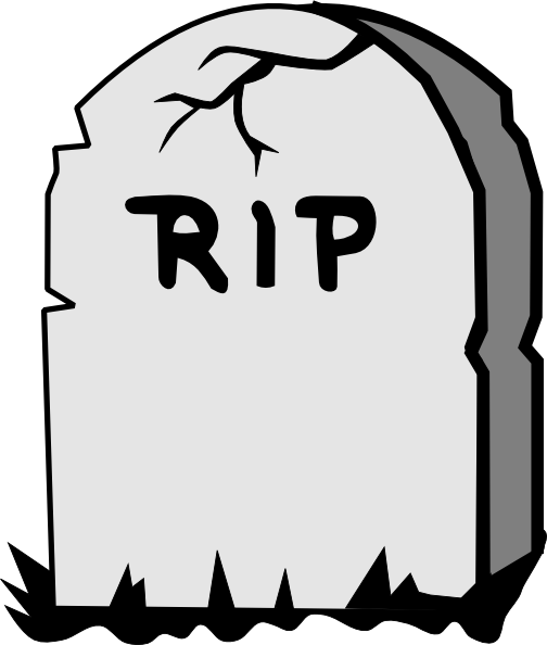 Tombstones clipart graphic black and white library Tombstone Drawings Free - ClipArt Best | OVER THE HILL in 2019 | Rip ... graphic black and white library