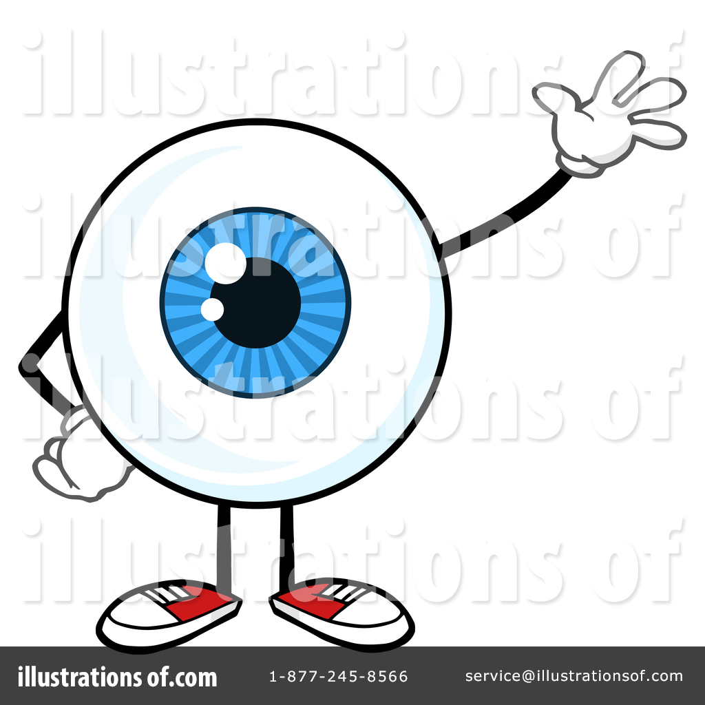 Toon clipart svg library Eyeball Character Clipart #1413961 - Illustration by Hit Toon svg library