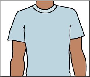 Clipart torso graphic royalty free Clip Art: Parts of the Body: Torso Color I abcteach.com   abcteach graphic royalty free
