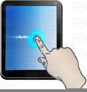 Clipart touch screen clipart transparent Touch Screen Clipart Free | Free Images at Clker.com - vector clip ... clipart transparent