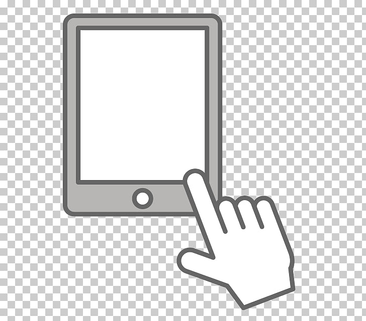 Clipart touch screen clip transparent download Personal computer Computer Icons Touchscreen , ipad PNG clipart ... clip transparent download