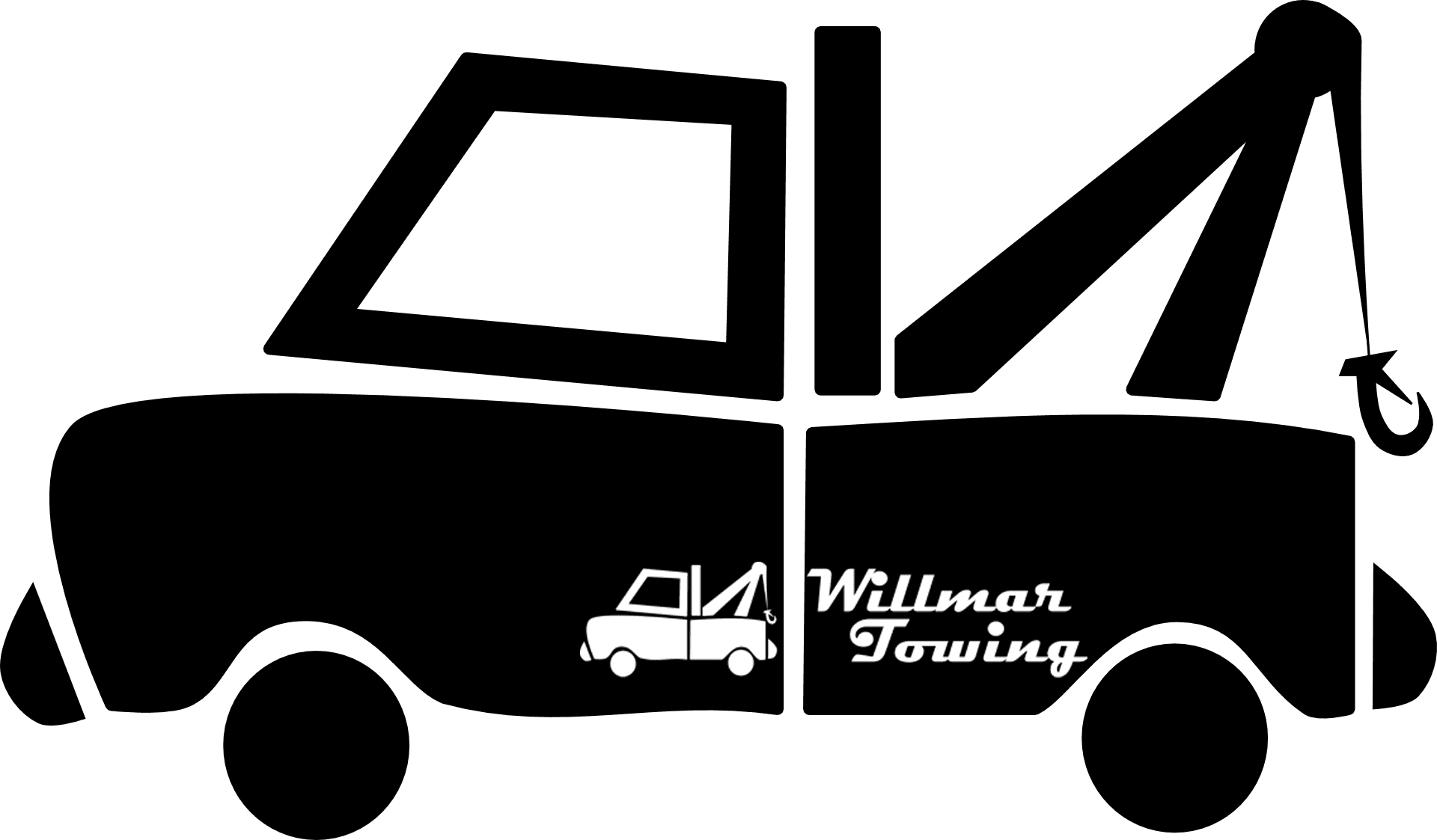 Clipart tow truck towing a car png library download Willmar Towing Company | Car & Motorcycle | Tow Truck Service png library download