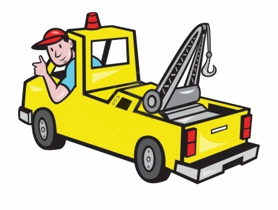 Clipart tow trucks graphic free download Mechanic - Tow Truck Clipart, Transparent Png Download For Free ... graphic free download