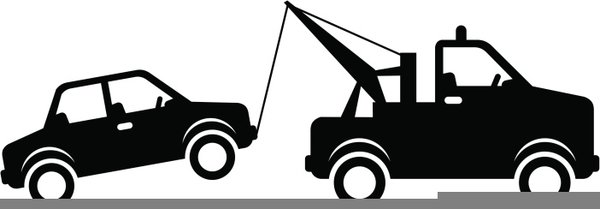 Clipart tow trucks image free stock Clipart Tow Truck Towing A Car | Free Images at Clker.com - vector ... image free stock