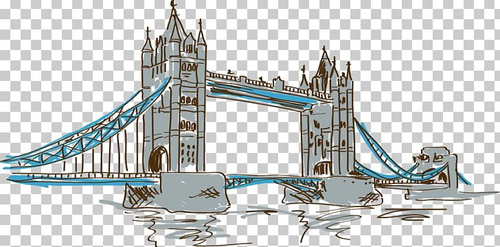Clipart tower bridge banner black and white download London Bridge Tower Of London Tower Bridge PNG, Clipart, Bridge ... banner black and white download
