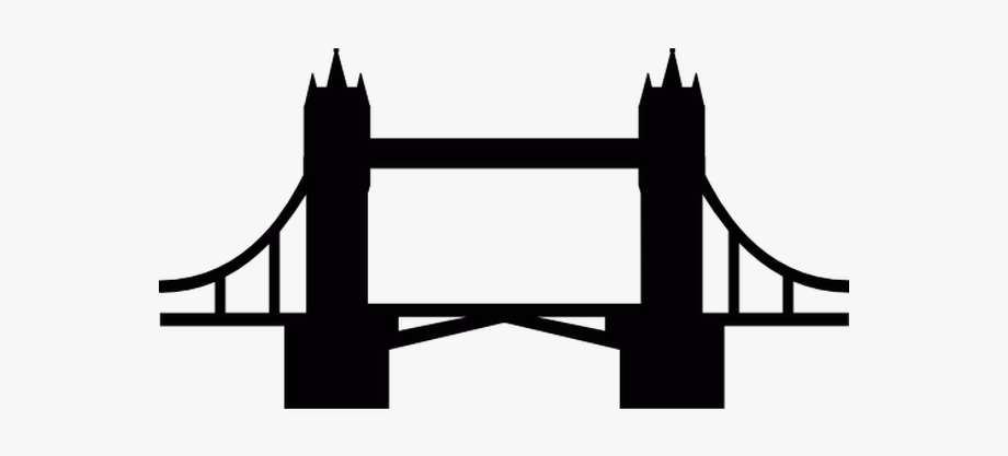 Clipart tower bridge vector black and white library Tower Bridge Free Vector Icons Designed By Freepik - London Bridge ... vector black and white library