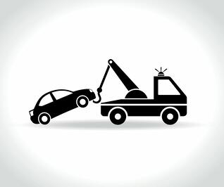 Clipart towing kissimmee jpg black and white stock Has Your Vehicle Been Towed Out of Your HOA Community? jpg black and white stock