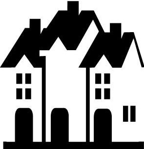 Clipart townhomes free library Free Townhouse Cliparts, Download Free Clip Art, Free Clip Art on ... free library