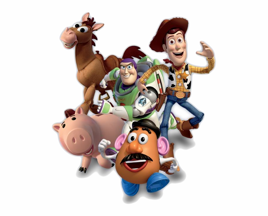 Clipart toy story svg library Toy Story Clipart Happy Birthday - Toy Story Characters Png Free PNG ... svg library