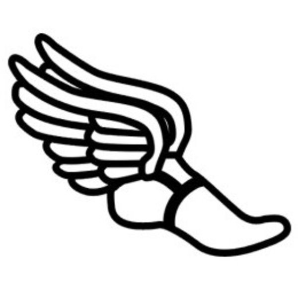 Winged track shoe clipart graphic free download 8 Track And Field Vector Art Images - Track Shoe with Wings Clip Art ... graphic free download