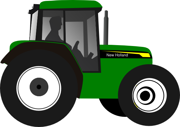 Clipart tractorr clip art black and white 51+ John Deere Tractor Clipart   ClipartLook clip art black and white