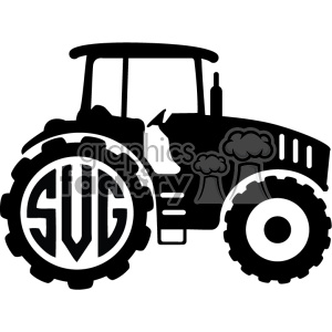Tractor cutting hay clipart jpg black and white download tractor clipart - Royalty-Free Images | Graphics Factory jpg black and white download