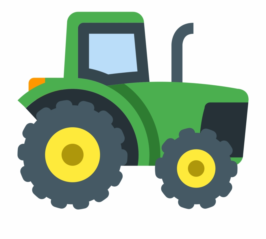 Clipart tractorr royalty free library Tractor Clipart Smoke - Tractor Icon Png, Transparent Png Download ... royalty free library