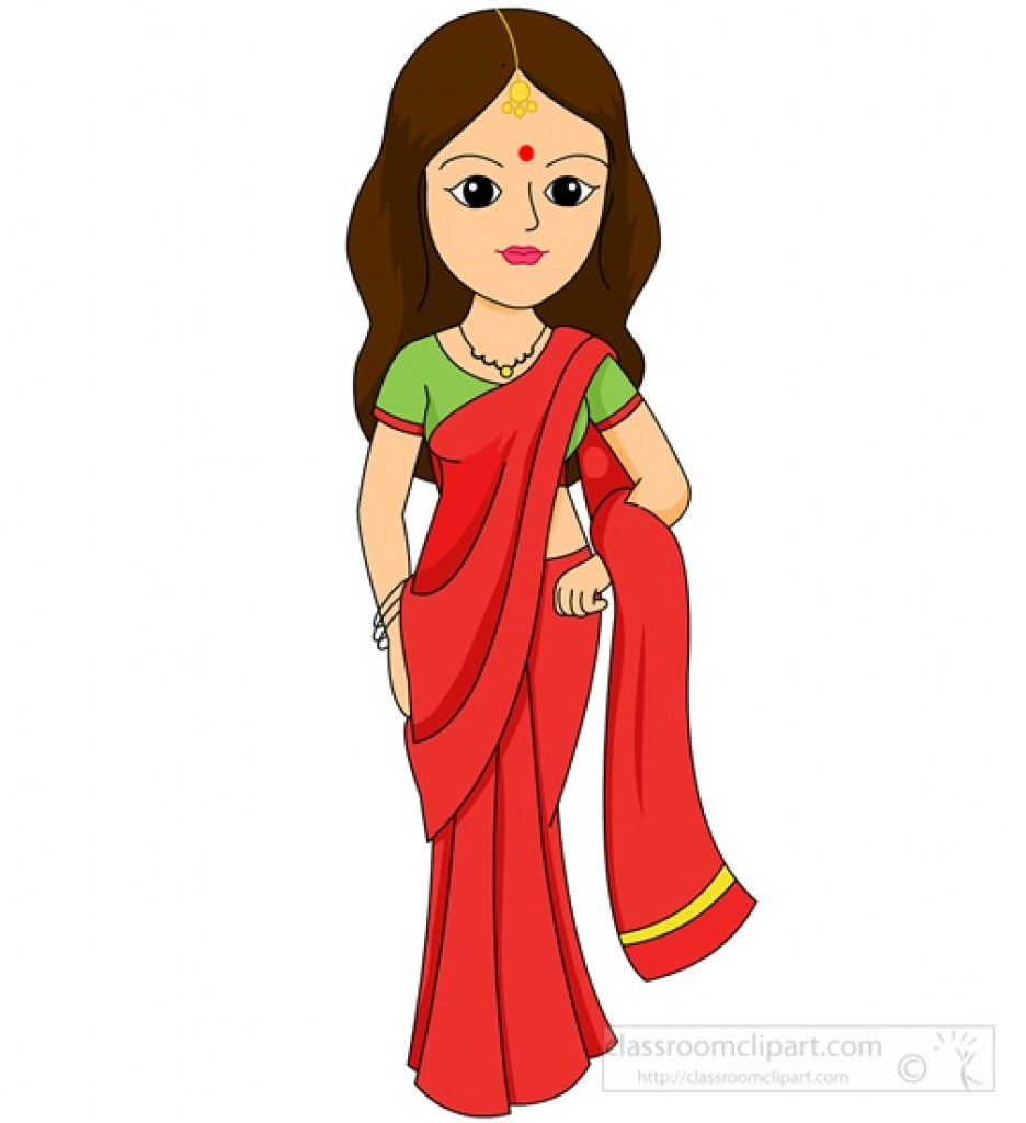 Clipart traditional dress banner free Indian traditional dress clipart 9 » Clipart Portal banner free