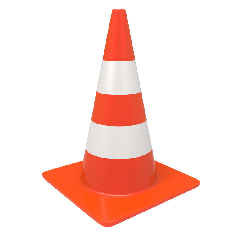 Clipart traffic cone picture library download Traffic Cone transparent PNG - StickPNG picture library download