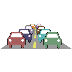 Clipart traffic jam vector transparent Traffic Jam clipart, cliparts of Traffic Jam free download (wmf, eps ... vector transparent