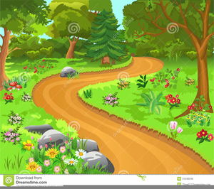 Trail clipart free clip free library Dirt Trail Clipart | Free Images at Clker.com - vector clip art ... clip free library