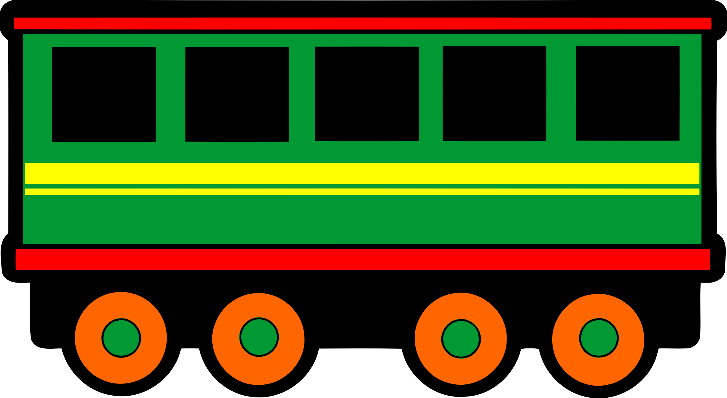 Railroad car clipart graphic royalty free library Clipart - Railway carriage (colour) graphic royalty free library