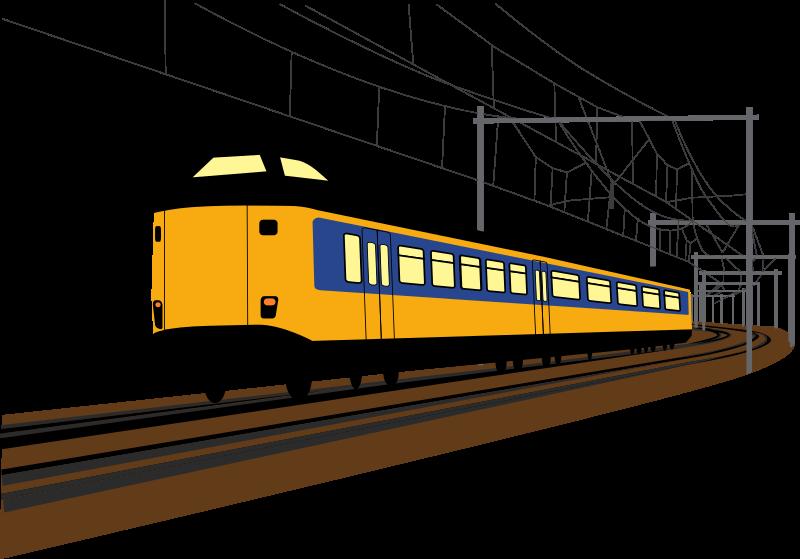 Train car clipart clip art freeuse Clipart - Dutch train clip art freeuse