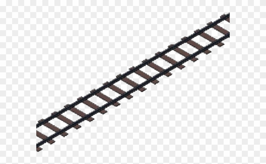 Clipart train tracks clip art free library Railroad Tracks Clipart - Transparent Train Track Png (#676506 ... clip art free library