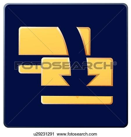 Clipart of transfer, icons, arrows, Arrow, money transfer, card ... image freeuse