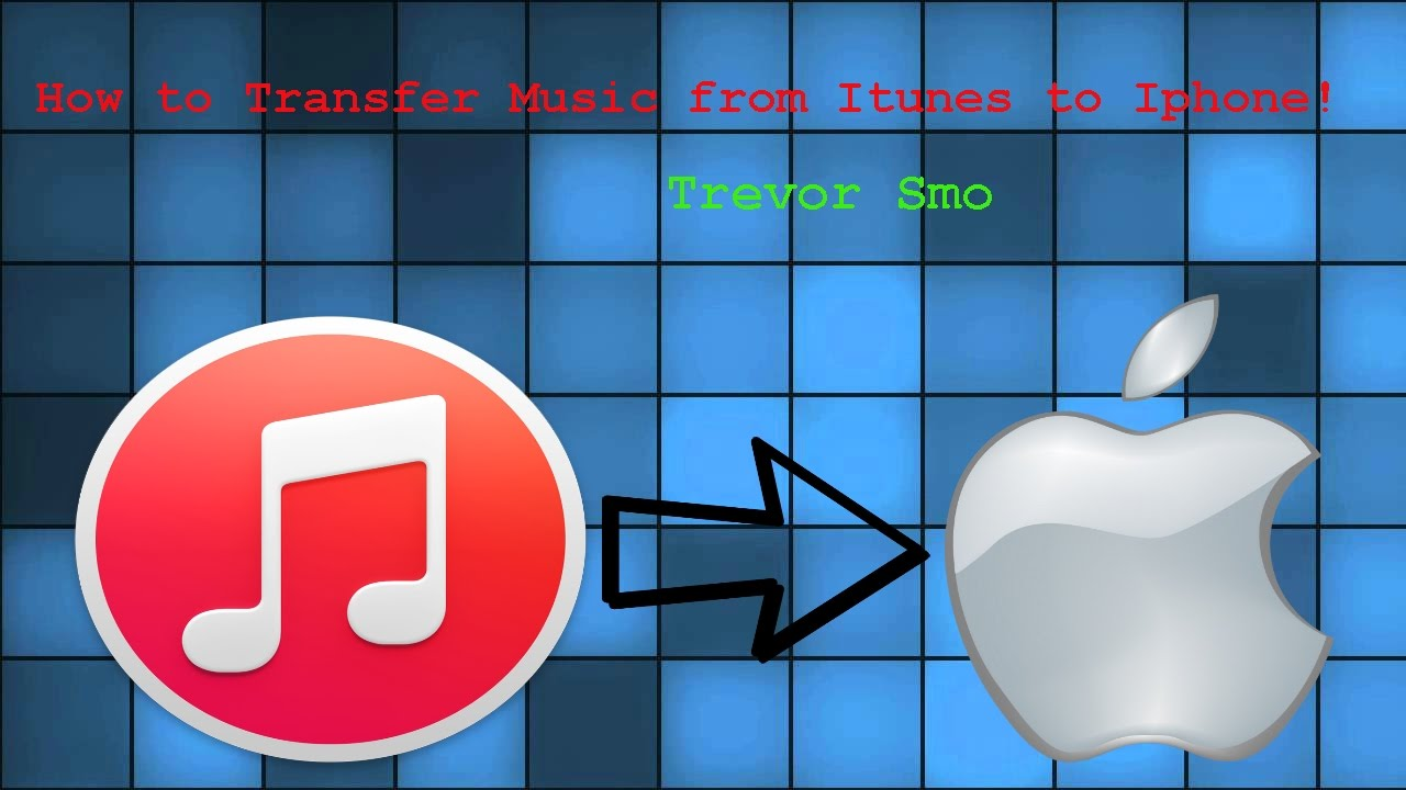 How to Transfer iTunes PC Music To iPhone! - YouTube clip