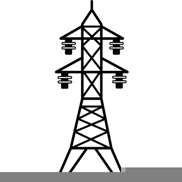 Transmission clipart image black and white library Clipart Transmission Tower | Free Images at Clker.com - vector clip ... image black and white library