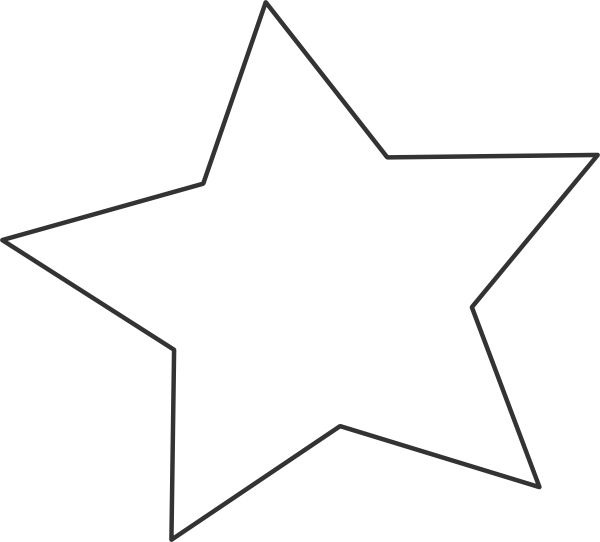 Transparent clipart star image transparent stock Transparent Star Clip Art at Clker.com - vector clip art online ... image transparent stock