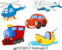 Transportation Clip Art - Royalty Free - GoGraph svg transparent library