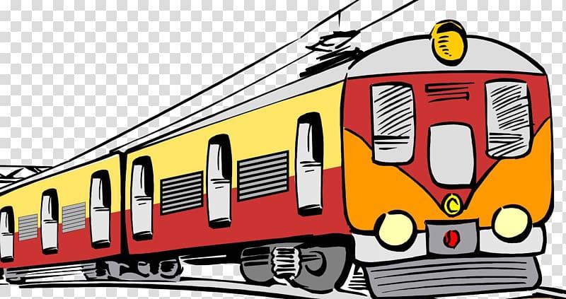 Clipart transportation train banner free download Rail transport Train Electric locomotive Passenger car , train ... banner free download