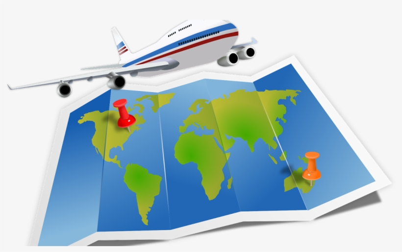 Clipart travelling jpg transparent stock Banner Library Download Air Travel Clip Art Transprent - Travel Map ... jpg transparent stock