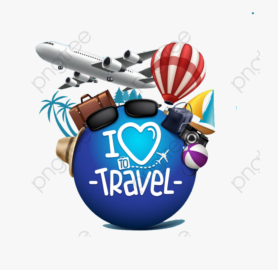 Clipart travelling image black and white stock Travel Clipart Airplane - Do You Love Travelling , Transparent ... image black and white stock
