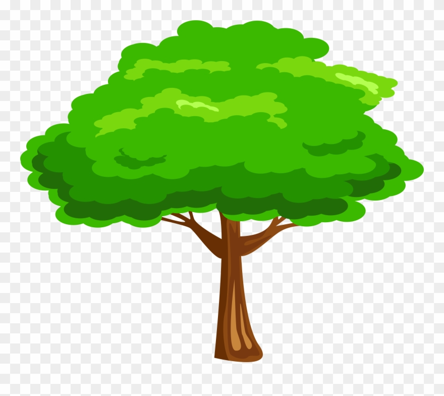 Cliparttree image freeuse library Leaves Clipart Mango Tree - Clipart Tree Png Transparent Png (#1348 ... image freeuse library